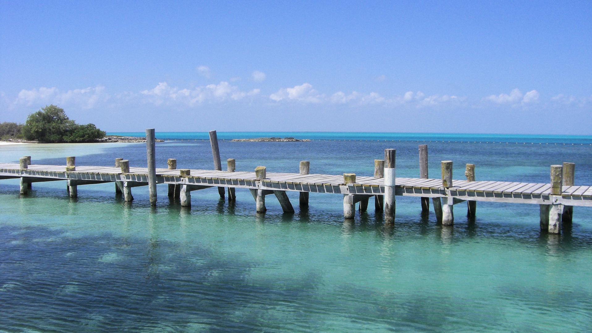 Karibischer Bootsanleger
