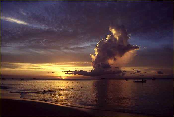 Karibischer Sonnenuntergang (reload)