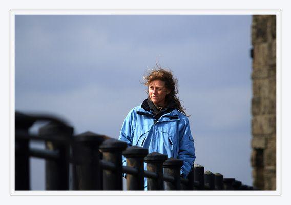 Karin am Leuchtturm