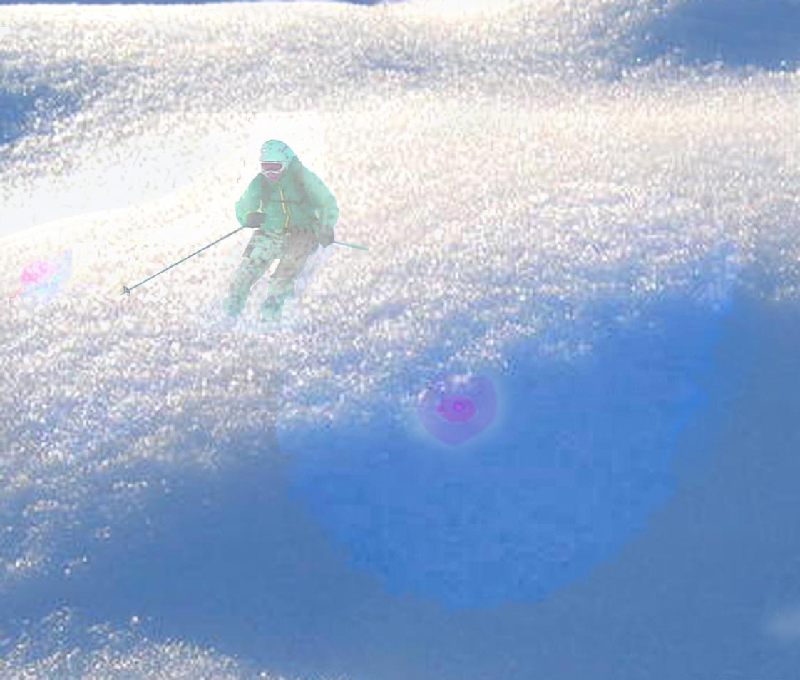 Karin im Schnee