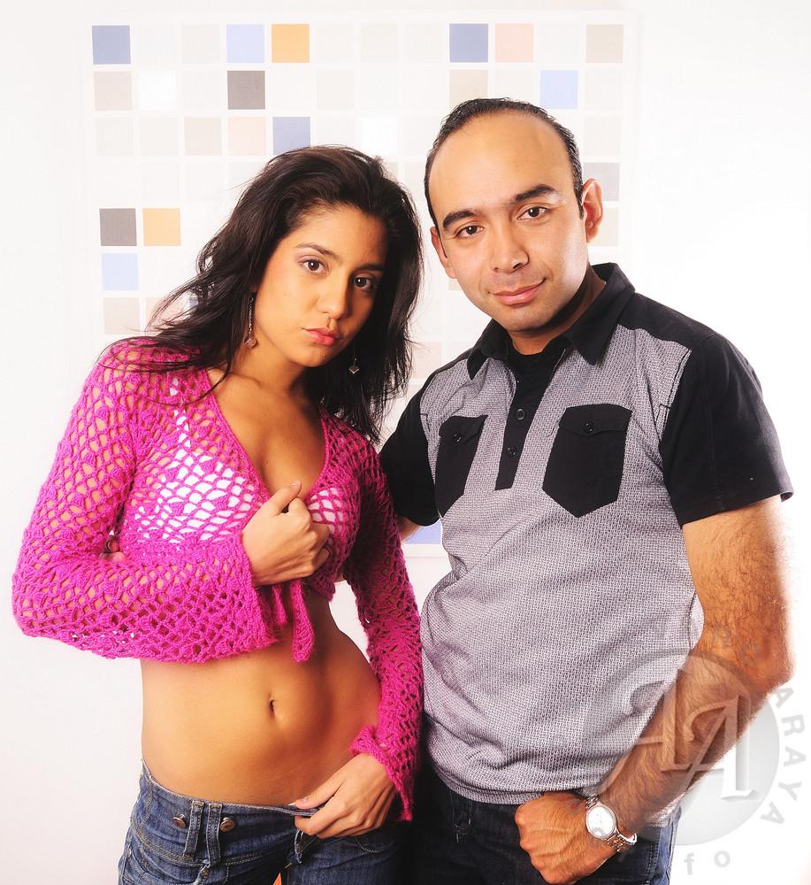 KARLA LAZO Y ALVARO ARAYA (FOTOGRAFO)