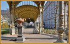 Karlsbad Tschechien, weiße Kolonnaden I