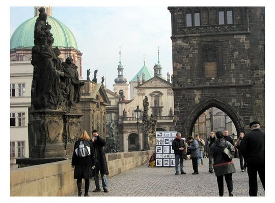 Karlsbrücke, beliebt :-))