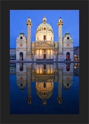 Karlskirche @ blue hour
