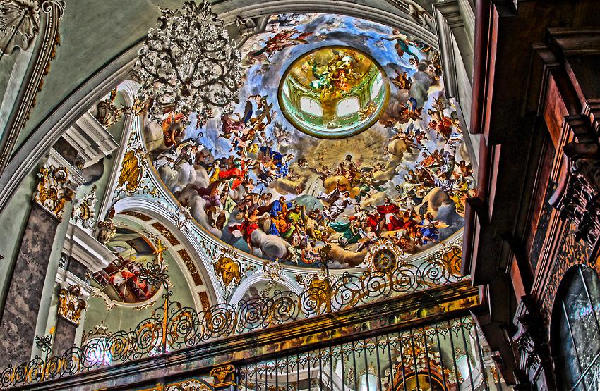 Karlskirche / Kuppelfresko