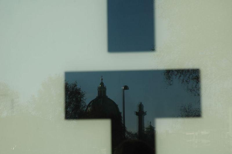 Karlskirche mirrored