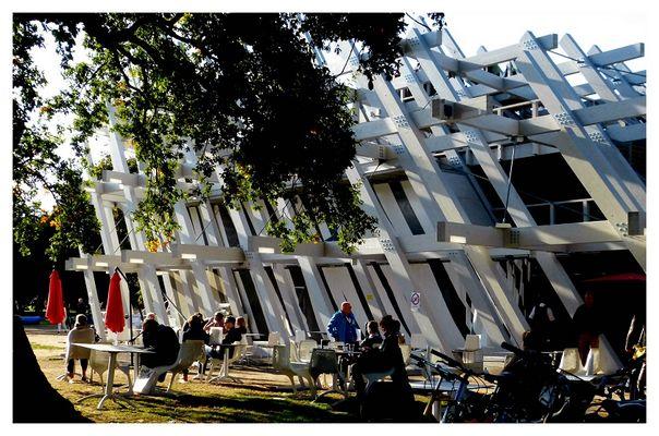 Karlsruhe, 300. Geburtstag, Pavillon im Schlossgarten,