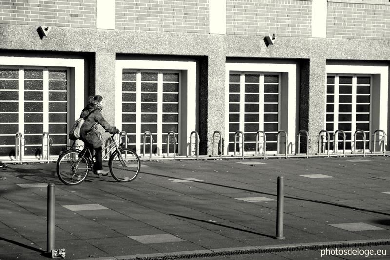 Karlsruhe, bei der Uni