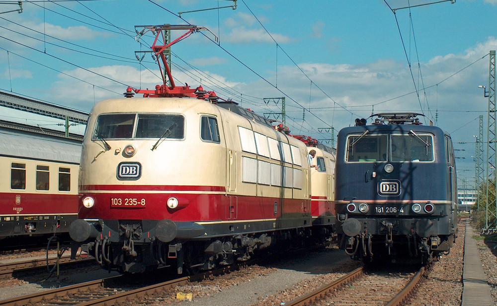 Karlsruhe, wie in Bundesbahnzeiten