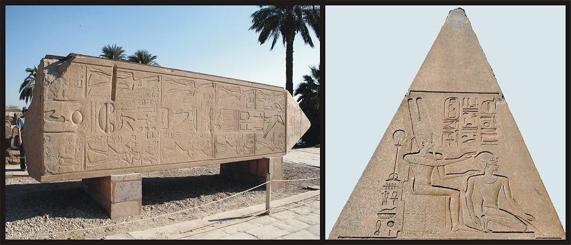 Karnak- Obelisk der Königin Hatschepsut