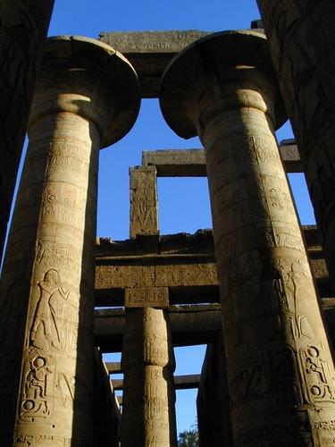 Karnak-Tempel in Luxor (Theben).