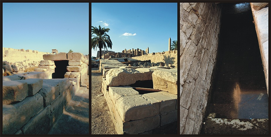 Karnaktempel – Nilometer