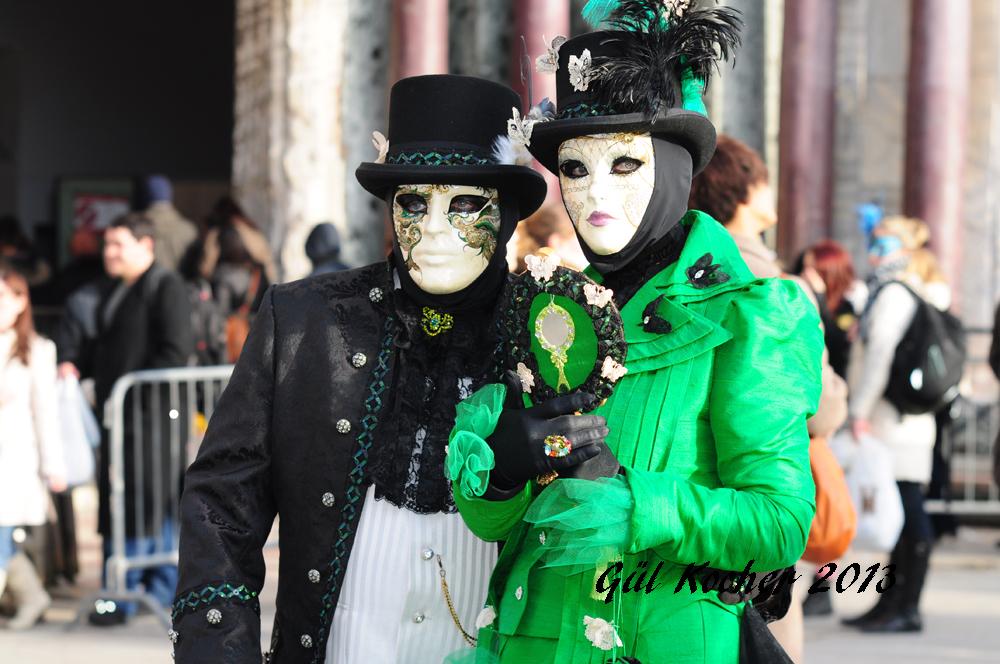 Karnaval in Venedig 2013