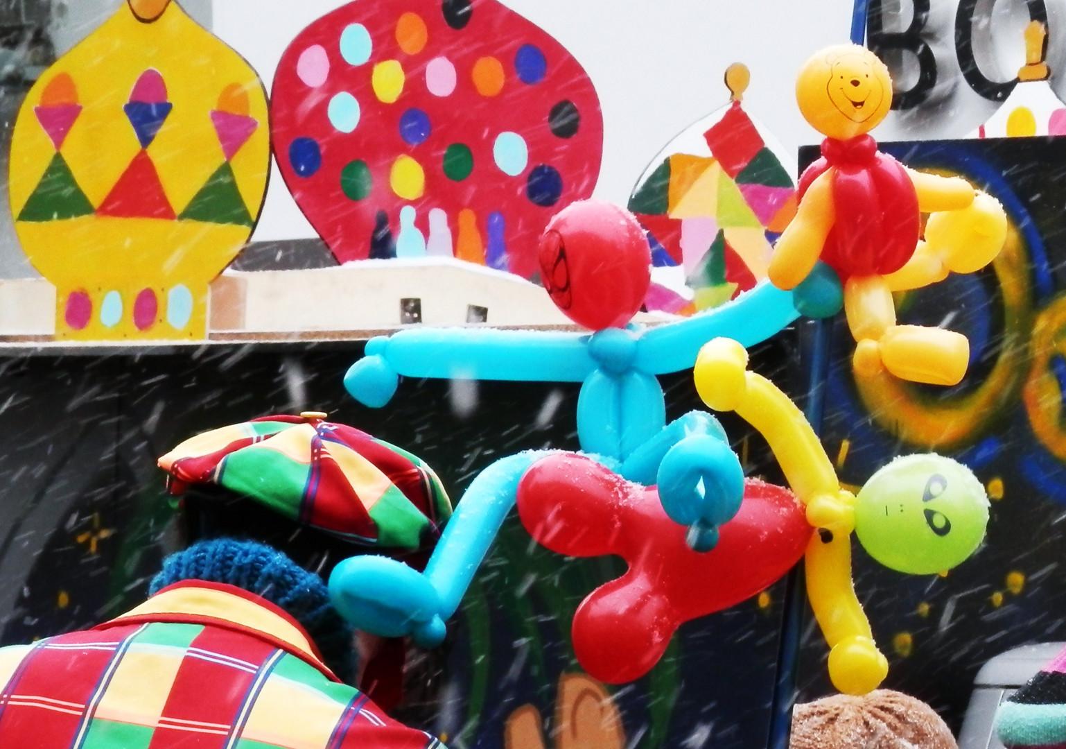 Karneval... ganz schön bunt