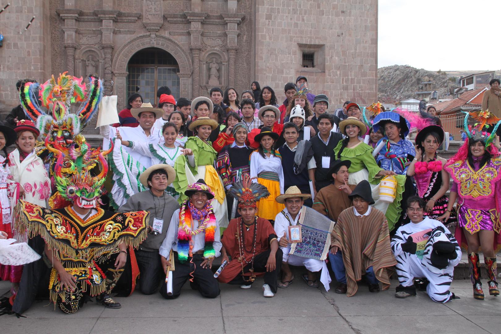 KARNEVAL Gruppe Peru