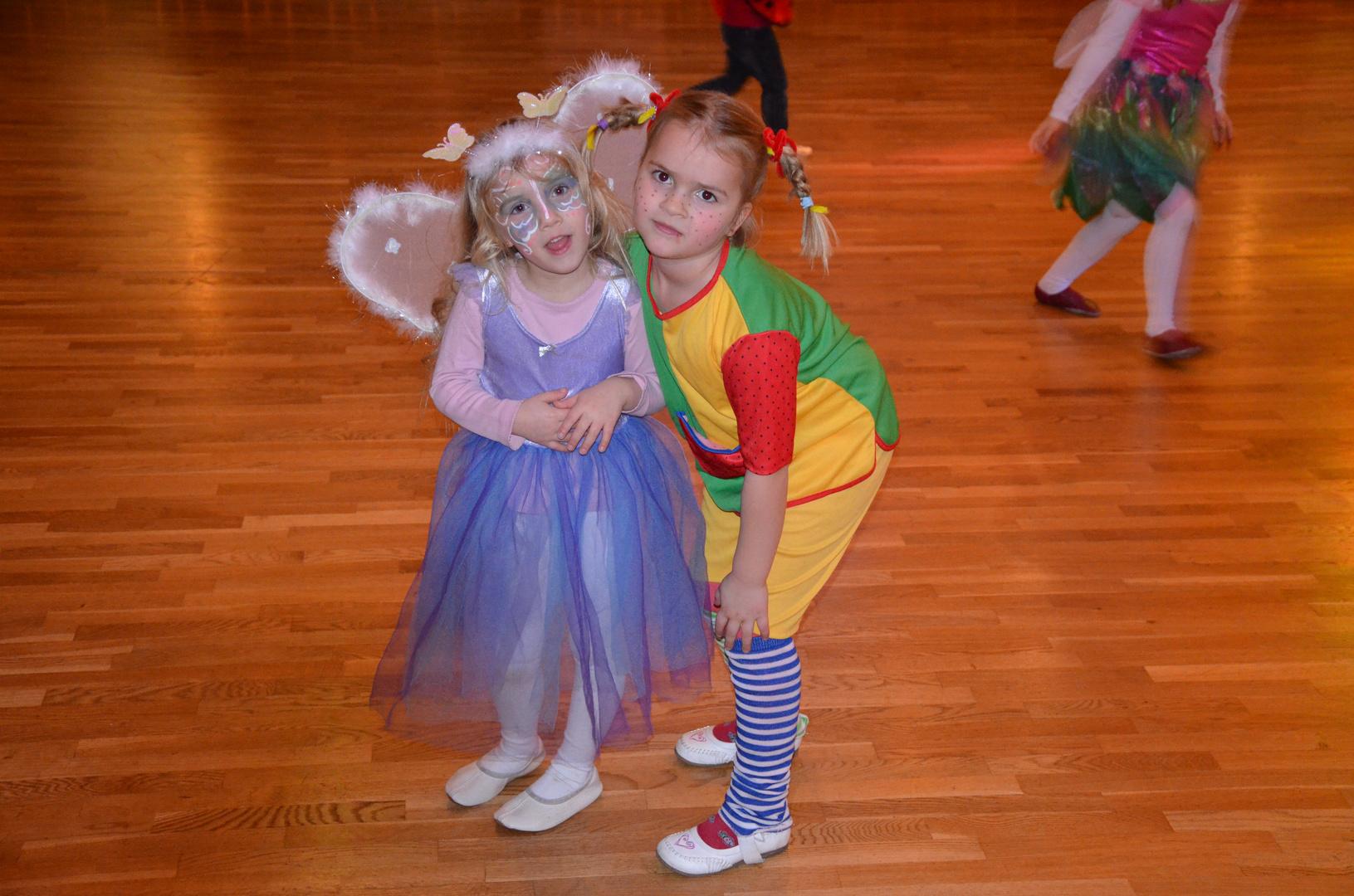 Karneval in der Tanzschule