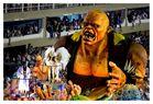 Karneval in Rio - Wagen im Sambadrom von Rio de Janeiro