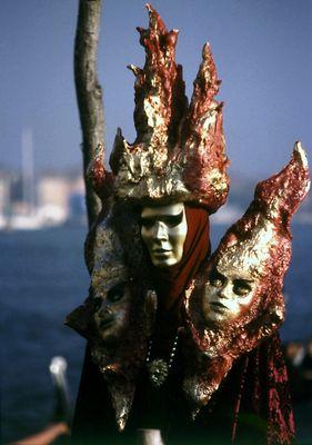 karneval in venedig.
