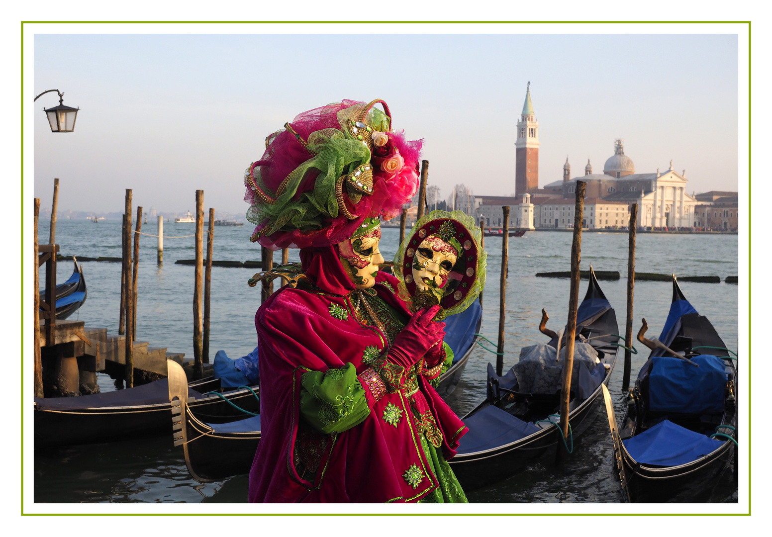Karneval in Venedig Maske