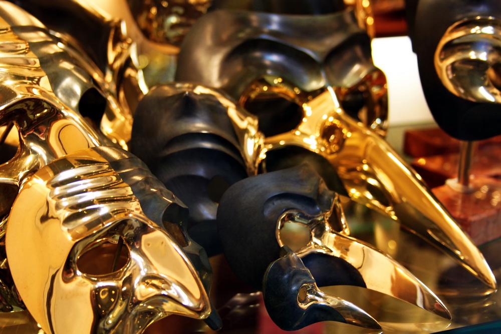 Karneval in Venedig Maske -7-
