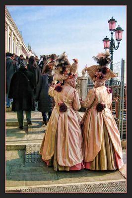 ...karneval in Venezia.....