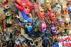 Karneval m. Hampelmännern in Florenz
