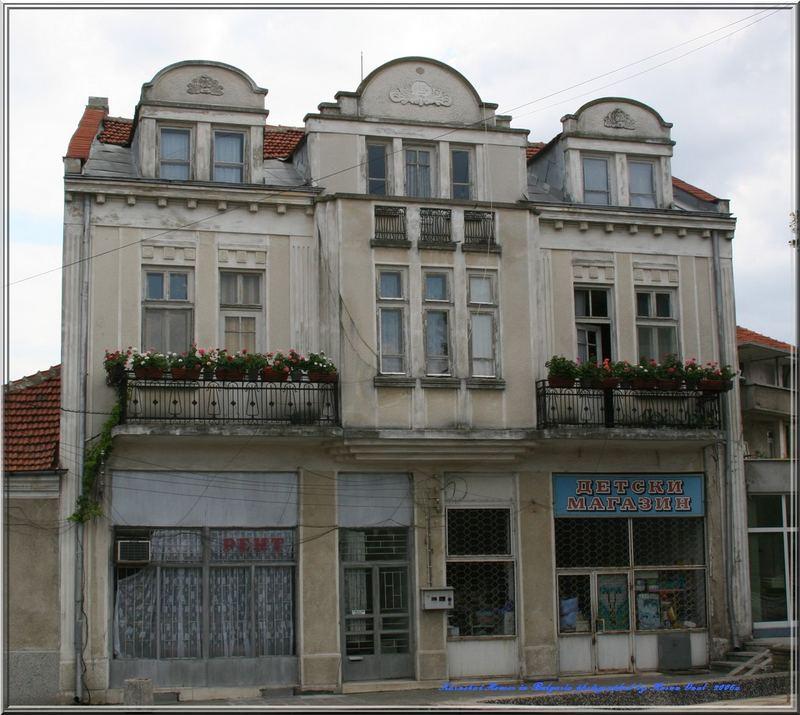 Karnobat Hauses in Bulgaria . 2006a