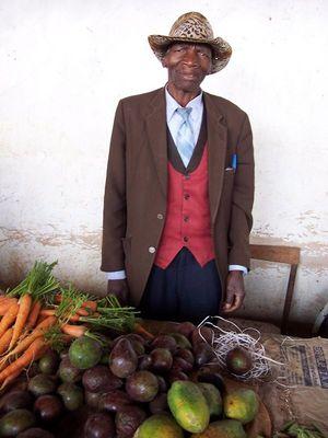 Karotten zu verkaufen