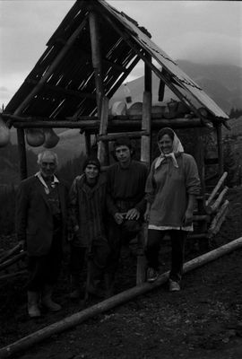 Karpaten; Schäferfamilie