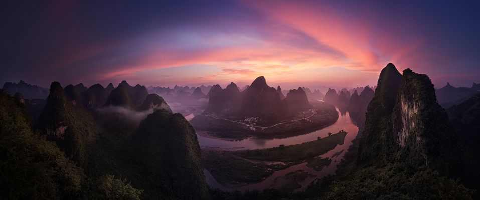 Karstberge am Li River