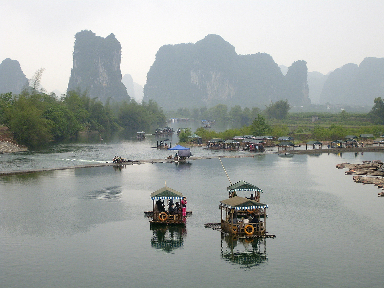 Karstberge von Yangshou