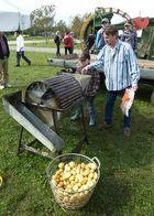 Kartoffel-Waschmaschine