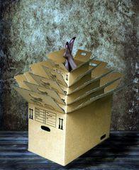 Kartonstapel