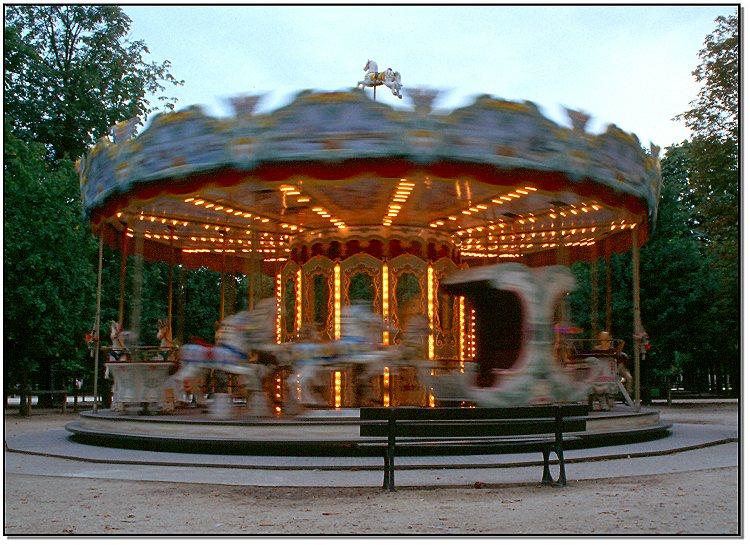 Karussell in Paris