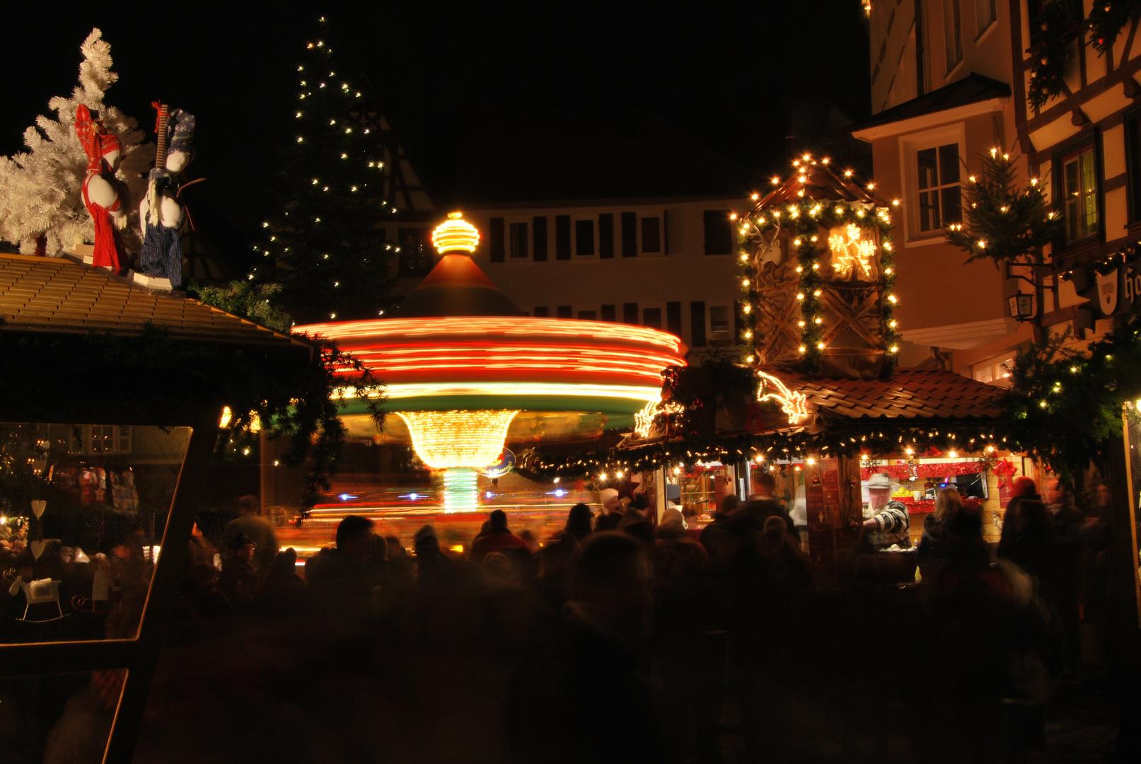 Karussell Weihnachtsmarkt