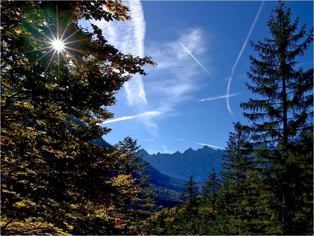 Karwendel im Oktober