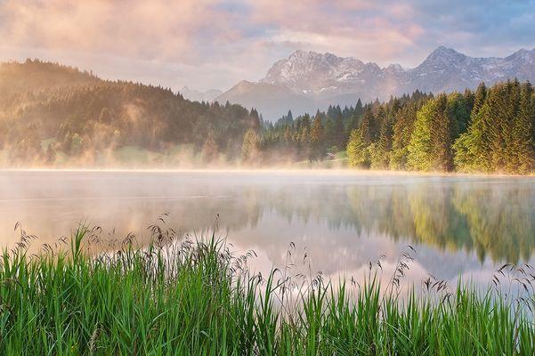 Karwendel Reflections