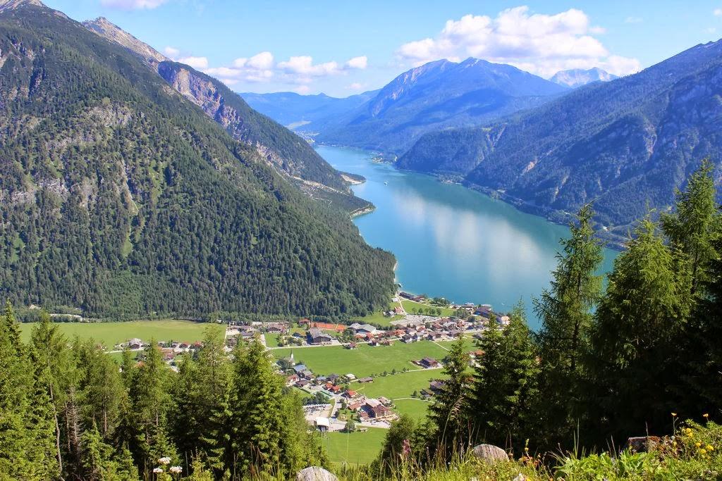 Karwendel (Tirol; Blick auf den Achensee)