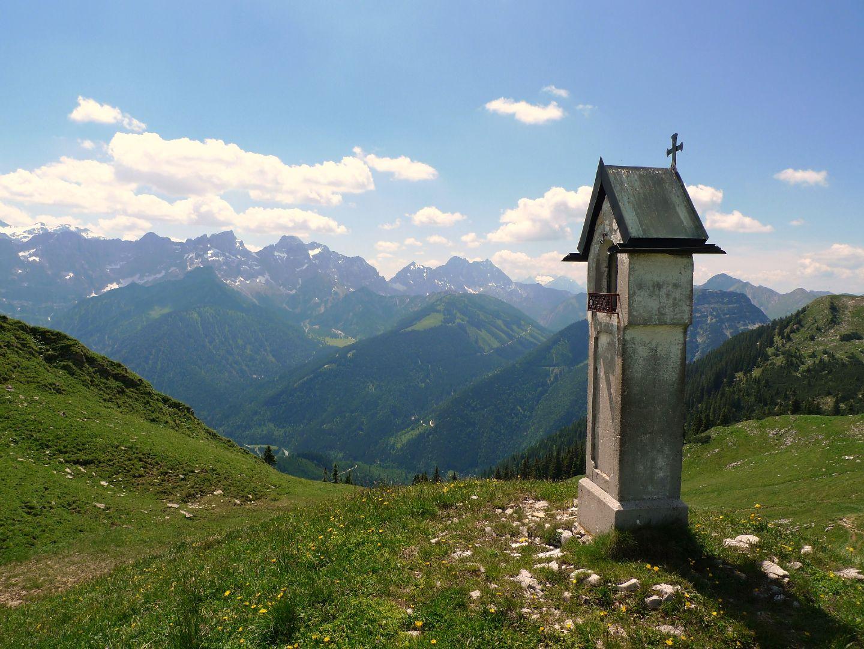 Karwendel unterhalb der Tölzer Hütte