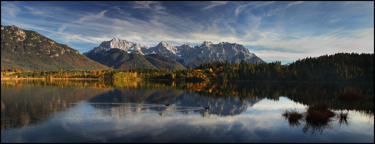 ~ Karwendelspiegel im Herbst ~
