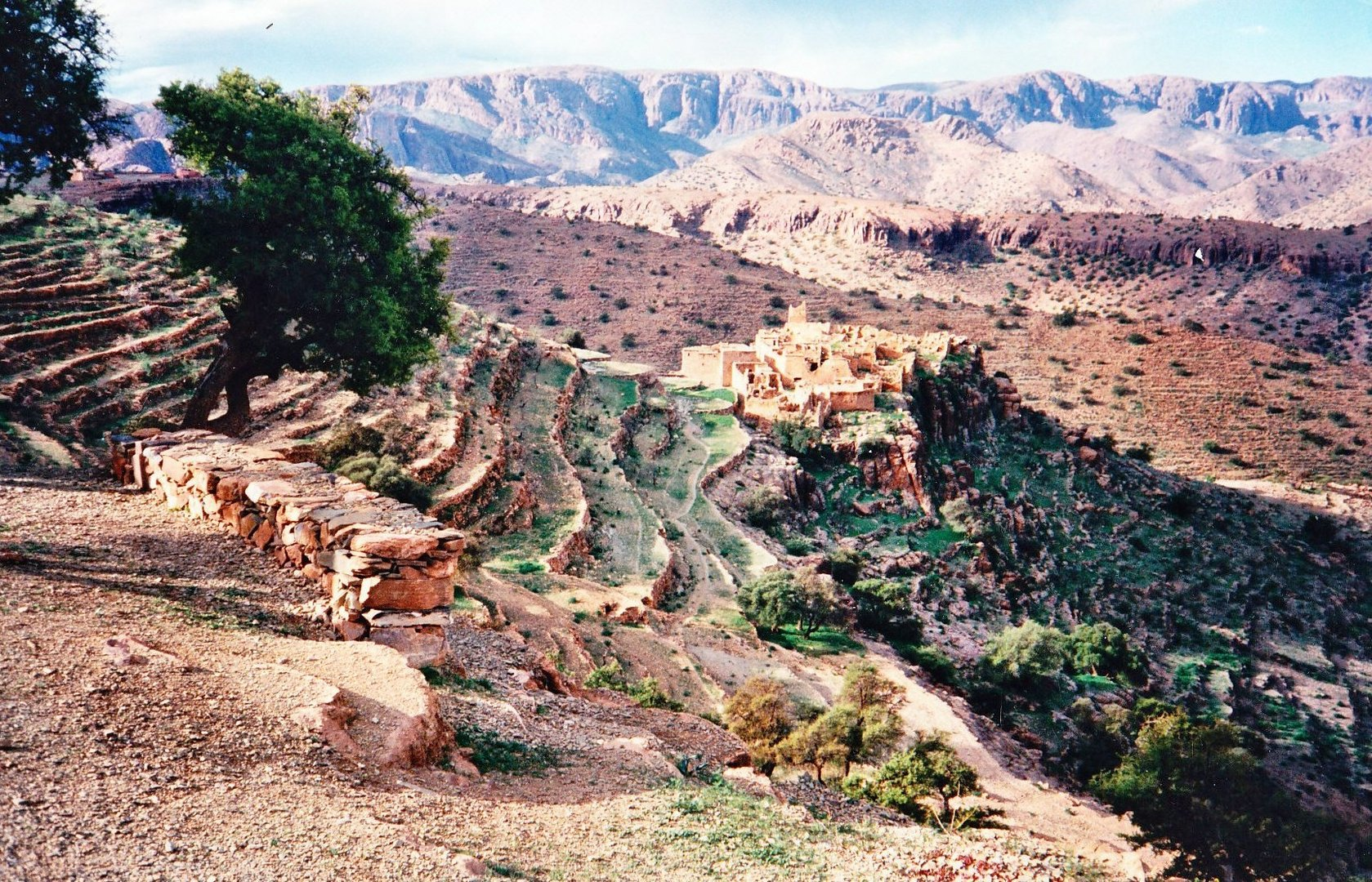 Kasbah im Anti-Atlas Marokko