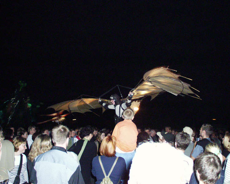 Kasch-Ka Kokon, der Traum vom Fliegen