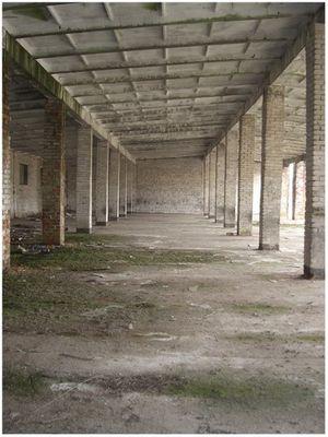 Kasernenhalle