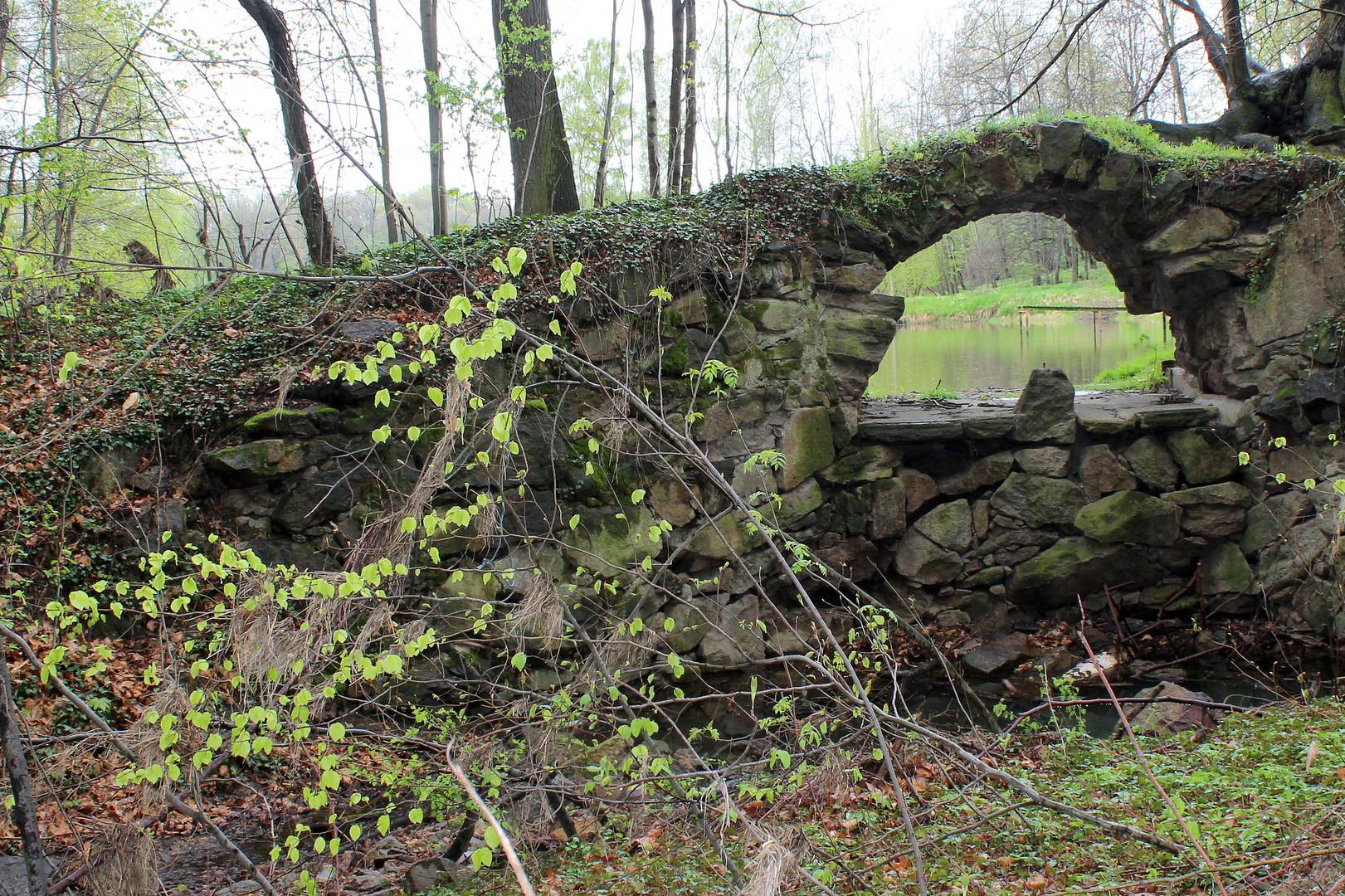 Kaskade in der Lausker Skala ( bei Bautzen)
