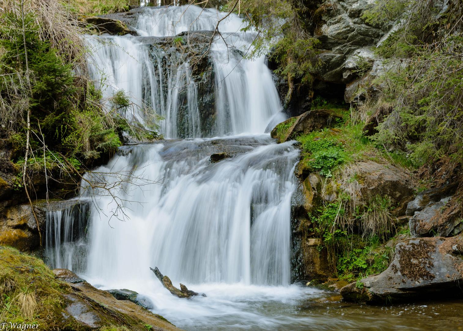 Kaskaden Wasserfall Graggerschlucht