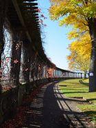 Kassel, Am Weinberg im Herbst