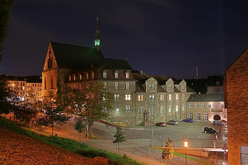 Kassel Br Derkirche Und Renthof Foto Bild