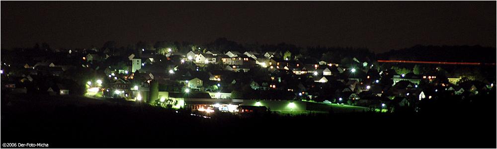 Kastellaun bei Nacht
