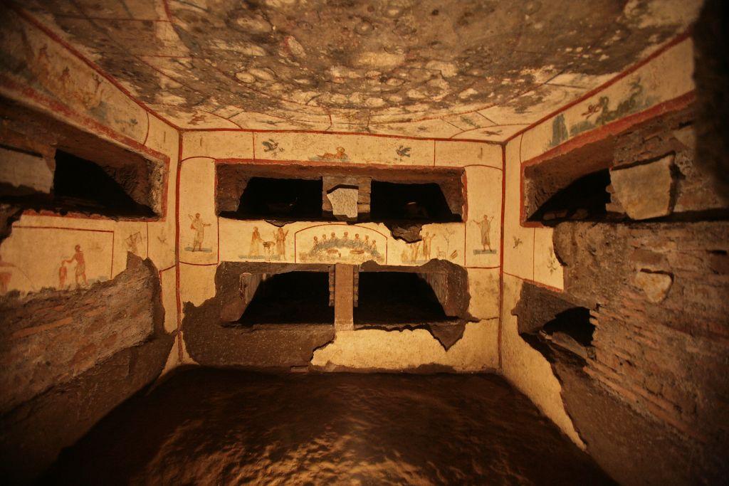 Katakomben an der Via Appia