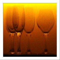 """Katalognummer 31: """"Warten auf den Abend oder: Tequila Sunrise"""", geprädelt"""